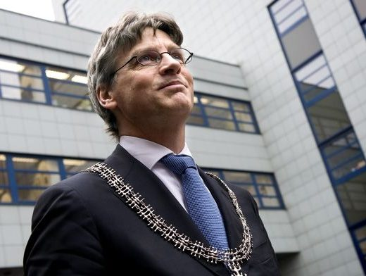 Burgemeester Lucas Bolsius